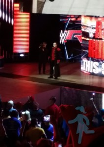 Sting - My all-time favorite wrestler at Monday Night Raw in Dallas last winter.